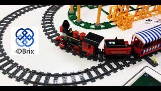 LEGO Train Switch Track Alternatives - 4DBrix