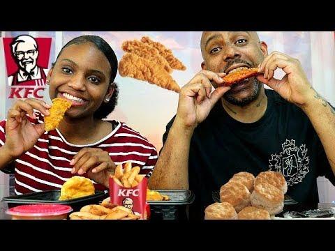 KFC THE NEW KING OF CHICKEN TENDERS! SMOKEY MOUNTAIN BBQ vs NASHVILLE HOT vs GEORGIA GOLD TENDERS!