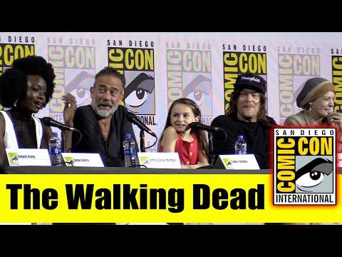 The WALKING DEAD | Comic Con 2019 Full Cast Panel (Danai Gurira, Norman Reedus, Melissa McBride)