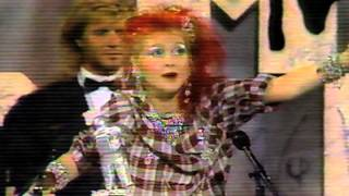MTV Video Music Awards: Duran Duran, Cyndi Lauper, ZZ Top [1984]