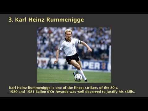 10 Best German Soccer Players