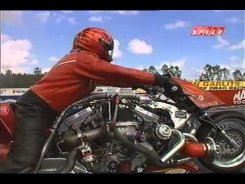 Motorcycle Drag Racing 2005 Prostar World Finals Gainesville Top Fuel