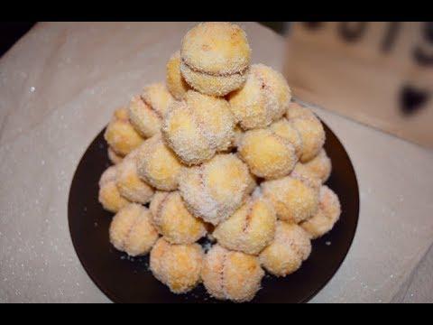 master-delice- -richbond--حلوة-ريشبوند-coconut-snowball-cookies-boules-de-neige-aux-de-noix-de-coco