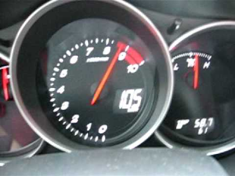Mazda RX-8 top speed in 2nd gear - YouTube
