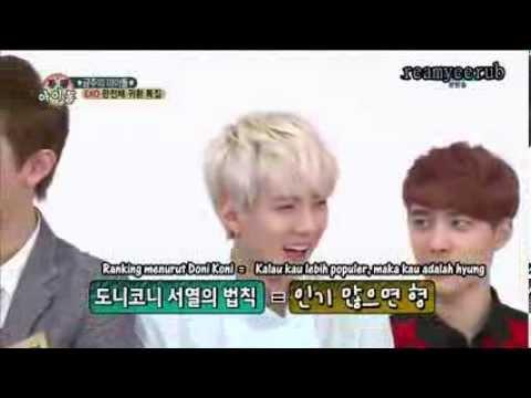 [Indo Sub] HD 130814 EXO Weekly Idol Ep 108 Part1