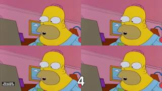 To start press any key - Homer Simpson - The Simpsons - Played Over 1,048,576 Times