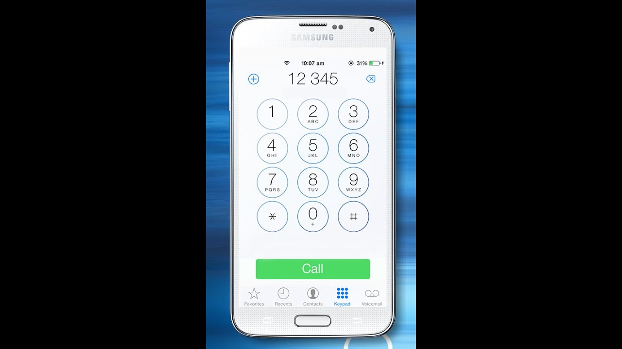 iOS 8 Call Dialer Full Free Android Apk DOWNLOAD