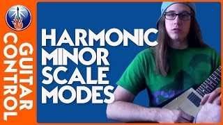 Lead Guitar Lesson - Learn the Harmonic Minor Guitar Modes - Guitar Theory