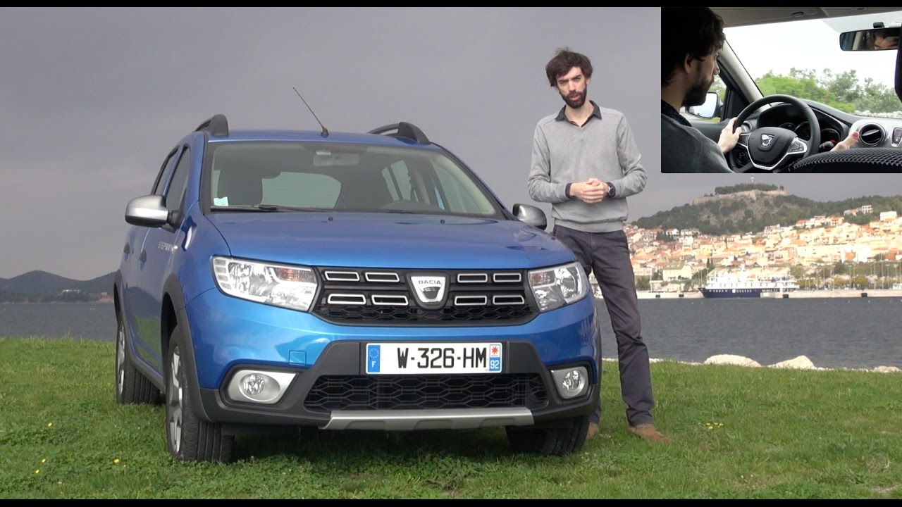 2017 dacia sandero stepway restyl e essai video stepway to heaven prix avis motorisations. Black Bedroom Furniture Sets. Home Design Ideas
