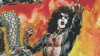 KISS printed comics using their own blood?!