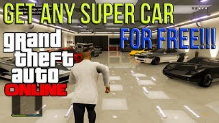 GTA 5 ONLINE: Get ANY SUPER CAR FREE Online - Insure Any Rare Vehicle!