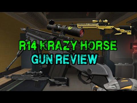WARFACE - R14 KRAZY HORSE GUN REVIEW!