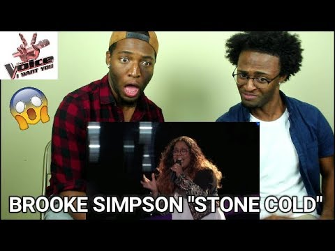 The Voice 2017 - Brooke Simpson Blind Audition: