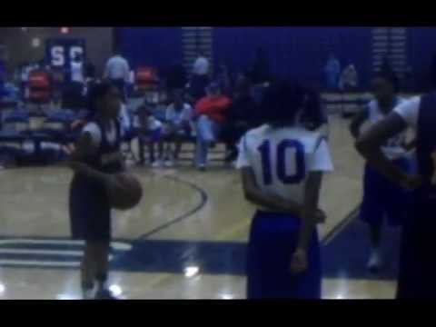 Cheyenne McEvans MacArthur K 8 University Academy Basketball Highlights