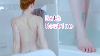 Relaxing at Home Spa Bathtub Night Routine Preview | My Bath Routine