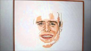 Olly Murs Digital Drawing