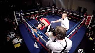 Ultra White Collar Boxing   Blackpool   Tony Chorlton VS Paul Evans