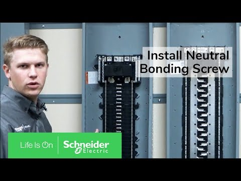 Installing Neutral Bonding Screw On QO & Homeline Load Centers | Schneider Electric Support