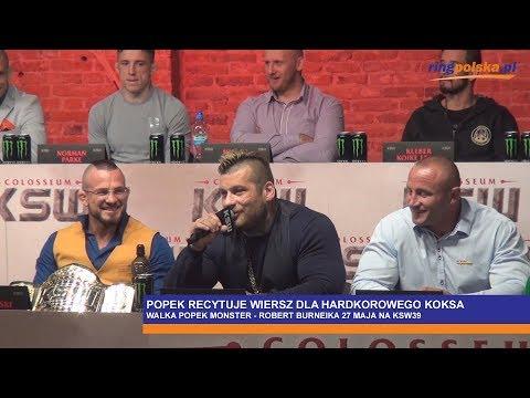 Ksw39 Popek Recytuje Wiersz Dla Hardkorowego Koksa Milanospl