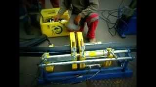 Сварка ПНД труб(Сварка труб ПНД. Диаметры 110 - 500 мм., 2013-02-16T18:49:49.000Z)