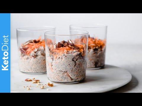 keto-diet:-low-carb-carrot-cake-chia-jars