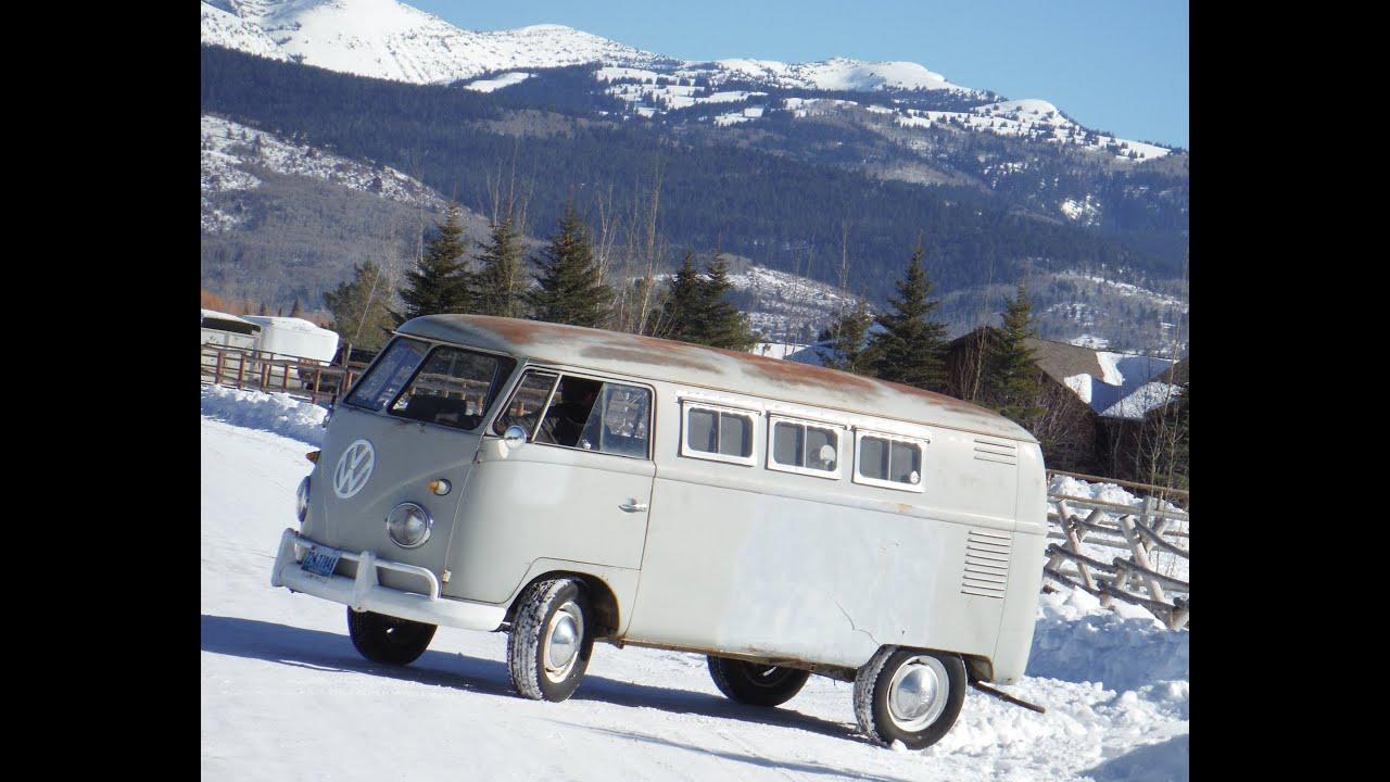 VW Split Window Bus Field Find Lives Again. Forgotten Volkswagen 1960 Camper - YouTube