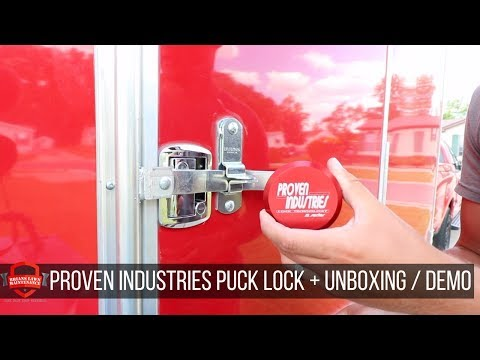 Unboxing - Proven Industries Puck Style Lock - For Enclosed Trailer Side RV+Ramp Doors