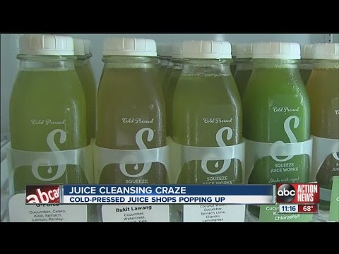 Cold-pressed juice shops opening all over Tampa