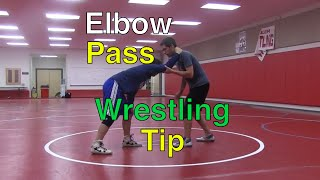 Wrestling Moves | Elbow Pass Coaching Point