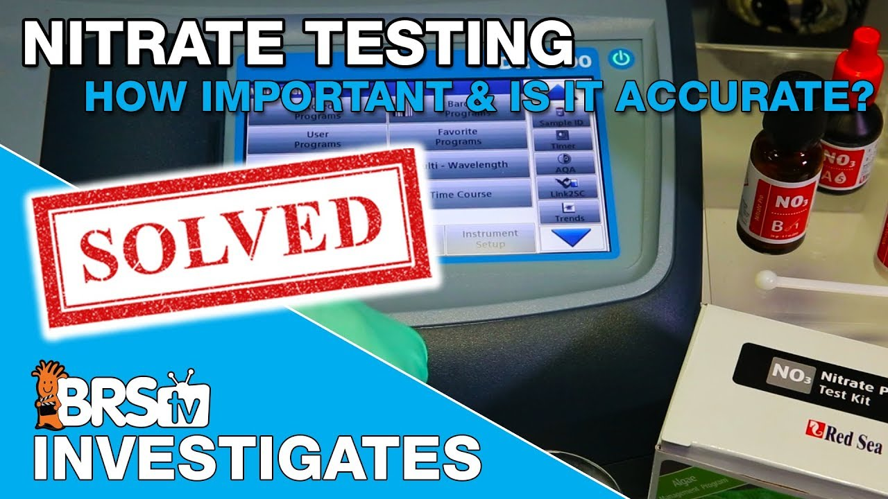 Nitrate Testing And Is My Test Kit