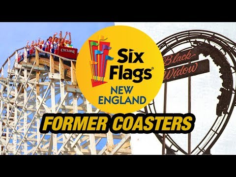The Former Coasters of Six Flags New England!