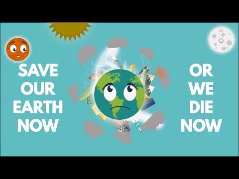 Save Earth Animation