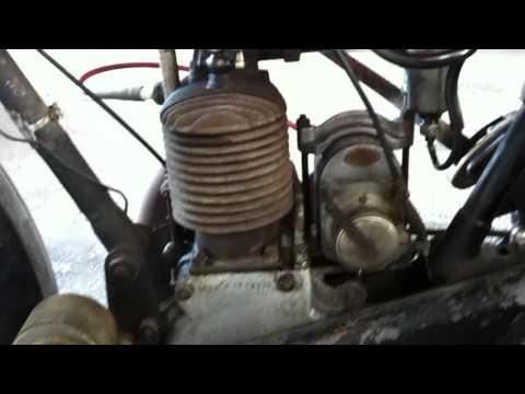 motosacoche 250 semi-culbuté de 1925