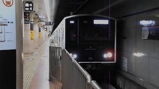 西唐津行き普通列車(305系W3編成)・中洲川端駅を発車
