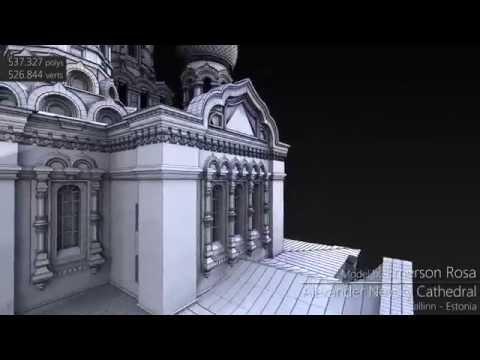 3D Model - Alexander Nevsky Cathedral, Tallinn - Estonia
