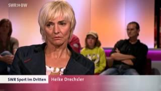 Heike Drechsler zum Thema Doping.