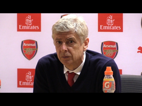Arsenal 1-2 Watford - Arsene Wenger Full Post Match Press Conference