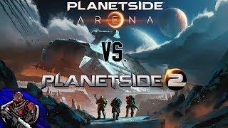 Planetside Arena vs Planetside 2. FIGHT!