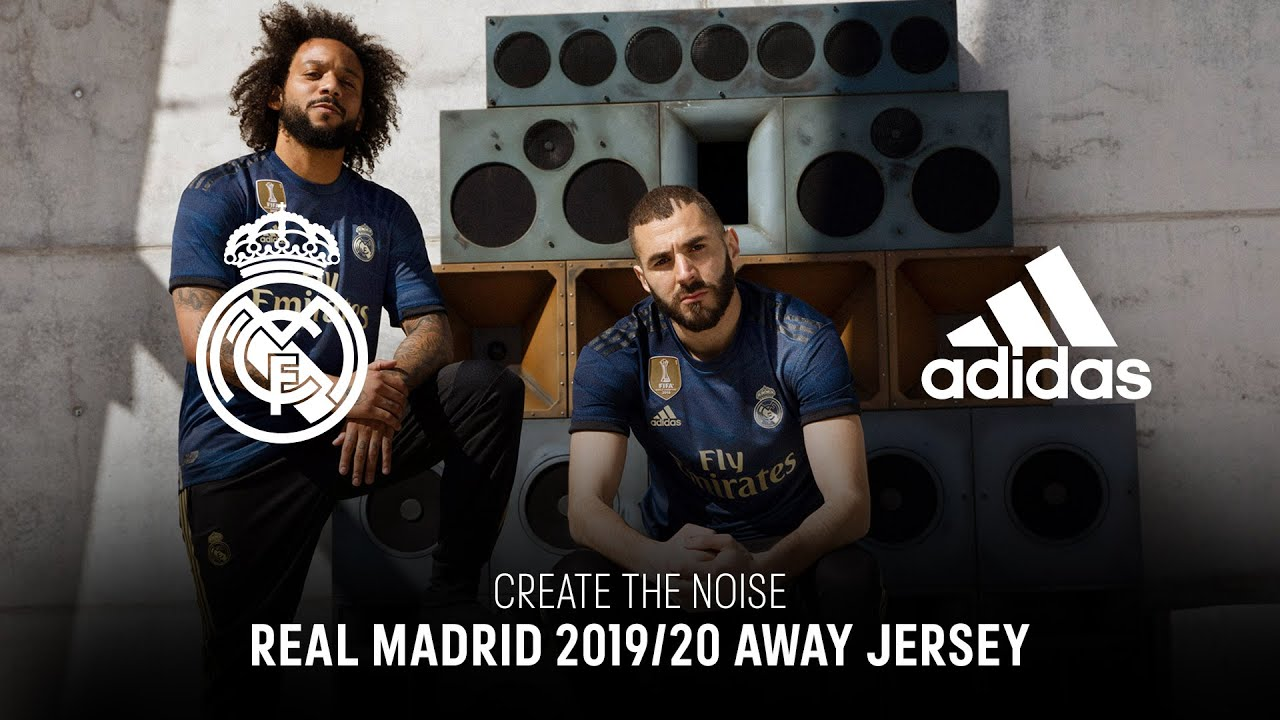 Real Madrid 2019 20 Away Jersey Create The Noise Youtube