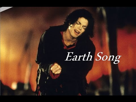 English worksheets: earth song by michael jackson.