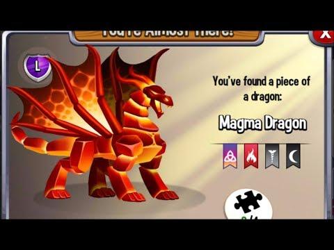 Dragon City: Magma Dragon