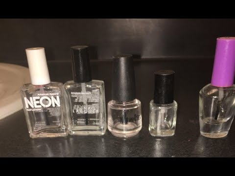 How to | Clean Nail Polish Bottles