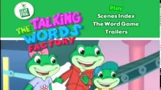 Leapfrog Talking Words Factory DVD Game