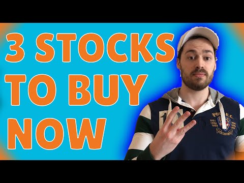 3 Stocks To Buy Right NOW (June 2021)