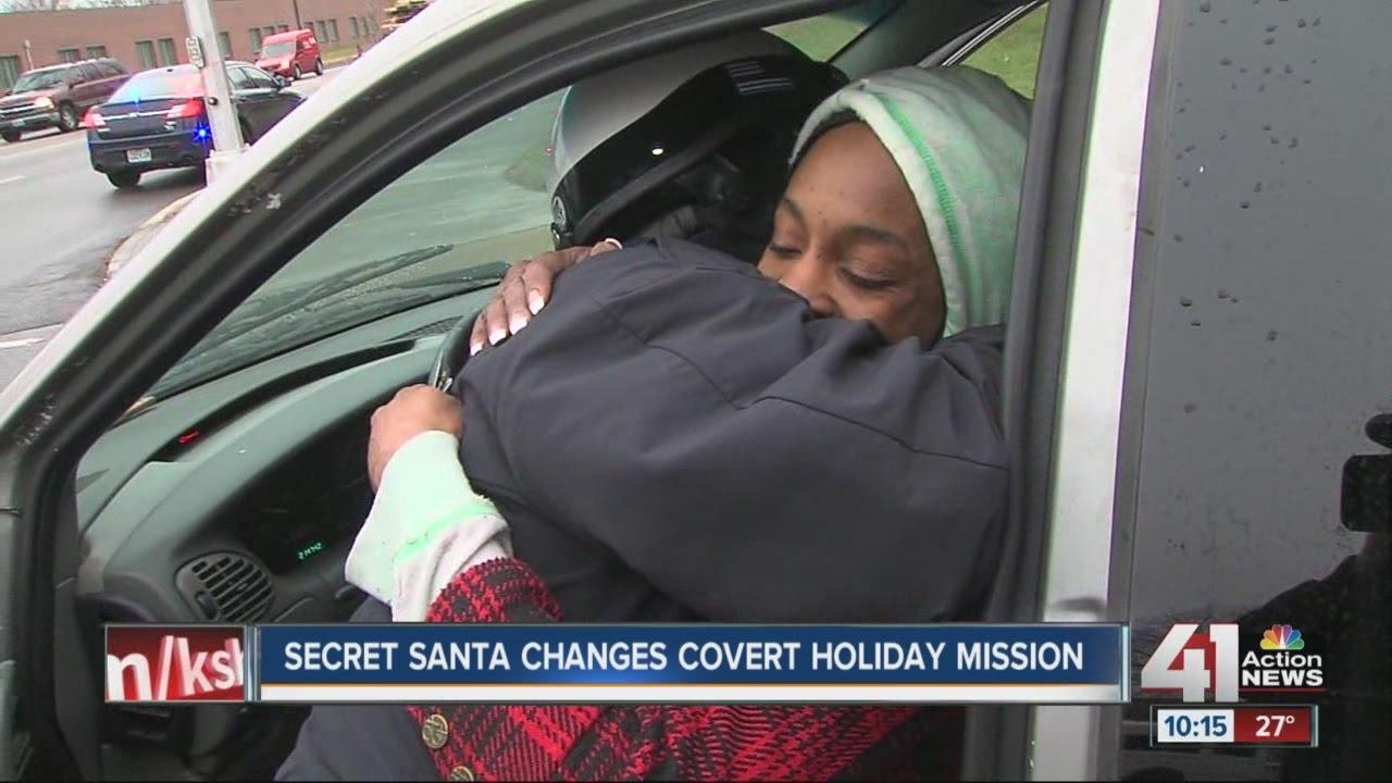 Secret Santa changes covert holiday mission