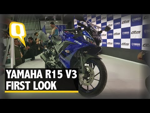Yamaha R15 v3.0 First Look & Walkaround at Auto Expo 2018 | The Quint