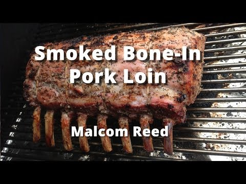 Bone-In Pork Loin Roast Recipe | How To Smoke A Bone-In Pork Loin Roast