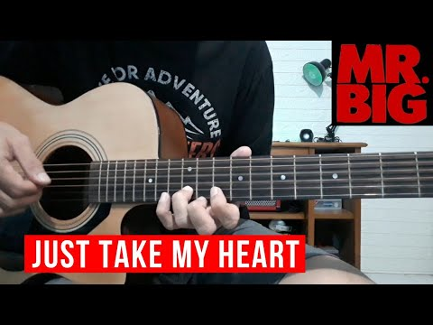 Just Take My Heart - Mr Big   Intro Tutorial