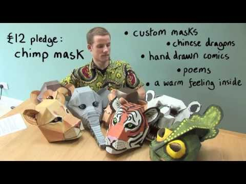 Chimpanzee Mask Kickstarter Video