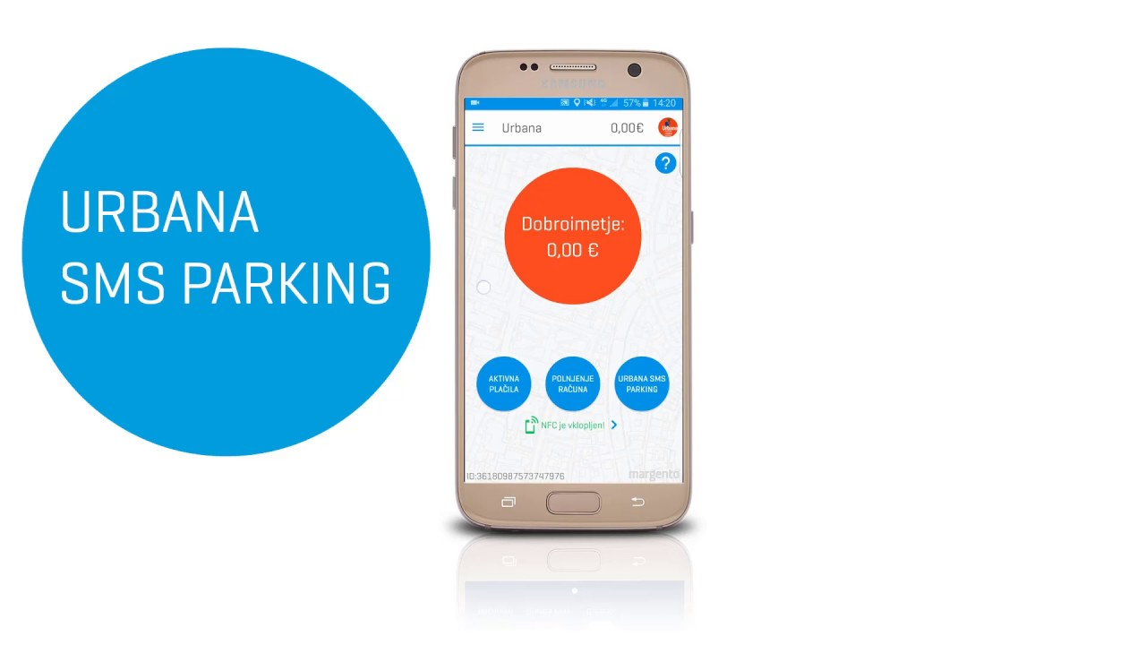 how to pay parking by sms